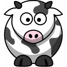 Cow Color Decal