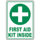 Safety First Aid Signs and Labels
