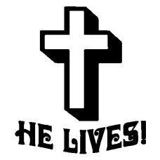 He lives Decal
