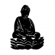 Buddhism Decal 7