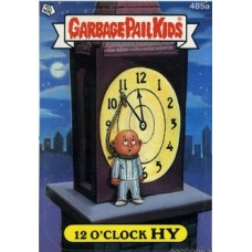 12 OClock HY Funny Sticker Name Decal