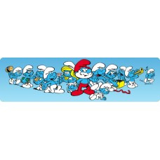 All the Happy Smurfs Decal