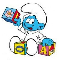 Baby Smurf Decal