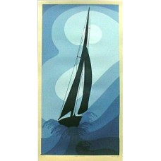 14x26 Sailboat Stormy Weather