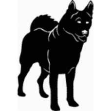 Akite Dog Decal - 15A