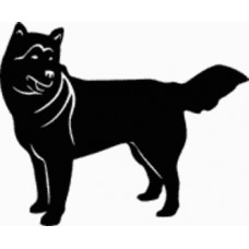 Alaskan Malamute Dog Decal - 15B