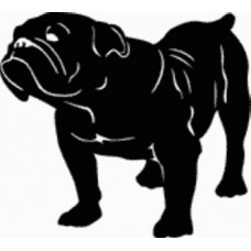British Bull Dog Decal - 15F