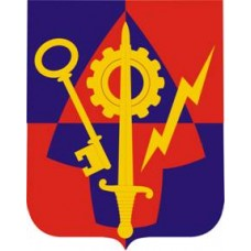1ST BRIGADE 2ND INFANTRY DIVISION Coat of Arms