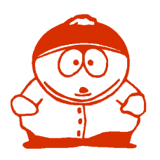 Cartman decal