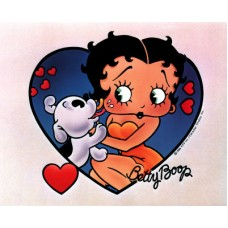 Betty Boop Cartoon Sticker 2