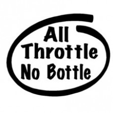 All Throttle Inside Decal