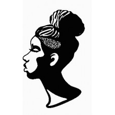 2 African Faces Africa Decal 34