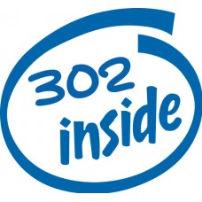 302 Inside Decal