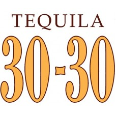 3030 Tequila Logo Color Sticker