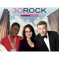 30 Rock Comedy TV Show Wallpaper Sticker Tina Fey Aec Baldwin