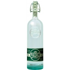 360 Vodka Bottle Shaped Sticker