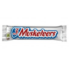3 musketeers cand bar sticker