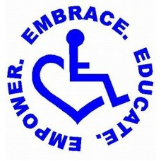 3E LOVE embrace educate empower sticker