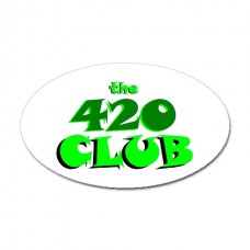 420 Club Sticker