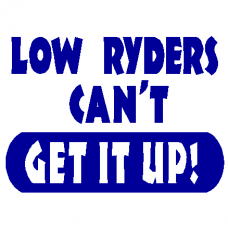 Low Ryders decal