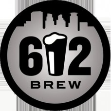 612 Brew Logo Circular Sticker