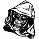 Grim Reaper Head decal - 624