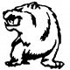 628 Grizzly Bear Decal