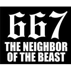 667 Neighbor of the Beast Decal