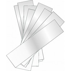8 - 6 Inch White Reflective Safety Strips