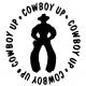 Cowboy Up 2 Decal