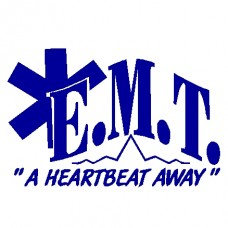 EMT vinyl decal