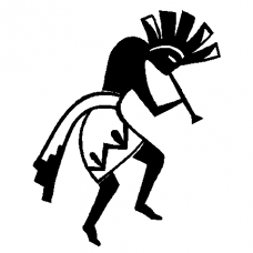 Hopi vinyl car decal