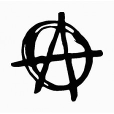 A is for Anarchy Religious Decal