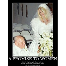 a promise to women what too late dont worry