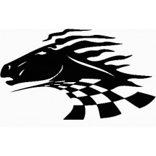 a vinyl horse car or wall decal 05