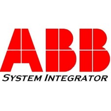 ABB ship system intergration logo sticker
