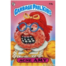Acne AMY Funny Sticker Name Decal