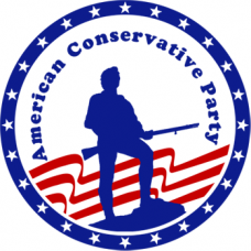 ACP American Conservative Party Sticker