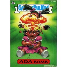 ADA Bomb Funny Sticker Name Decal