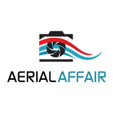 aerial affair logo sticker