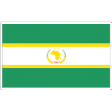 African Union Flag Decal