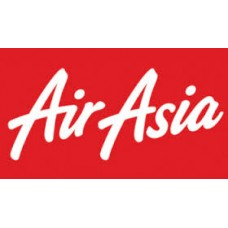 air asia red background stcker