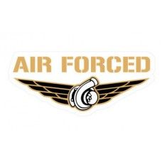 Air Forced Turbo funny color auto sticker