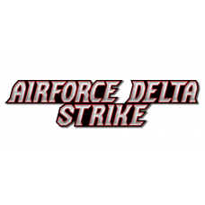 airforce delta strike logo sticker