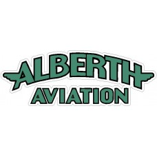 Alberth Aircraft Logo Sticker