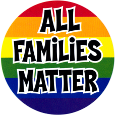 All Families Matter Sticker Decal