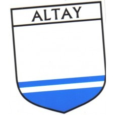 Altay Flag Crest Decal Sticker