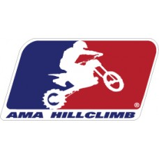 AMA Hillclimb Color Decal Sticker