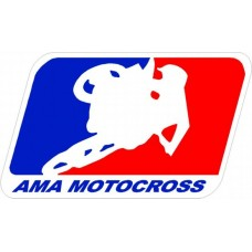 AMA Motocross Logo Decal Sticker
