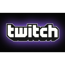 amazon twitch-live stream logo sticker
